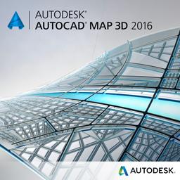 AutoCAD MAP 3D 2016 badge