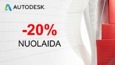 Revit, Autocad, Maya, Autodesk akcija, Autodesk nuolaida,